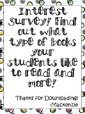 Free Interest Survey!