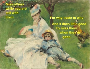 Free Art and Literature Poster – Renoir 1874