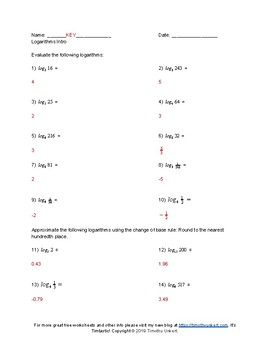 Logarithms homework help good subject for email resume