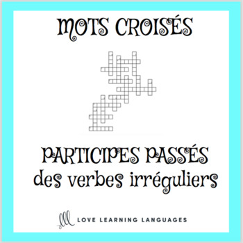Free Irregular French Verbs Crossword Puzzle