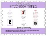 Free Jane Austen Bookmarks
