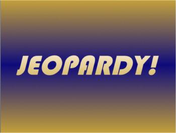 Free Jeopardy Template