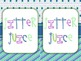 "Free ""Jitter Juice"" Label"