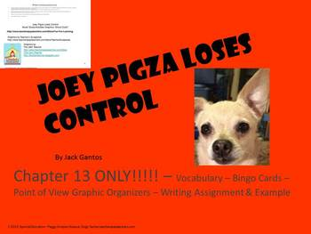 Free Joey Pigza Loses Control Chapter 13 Special Need/Education/Autism/ELD