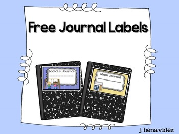 Free Journal Labels !