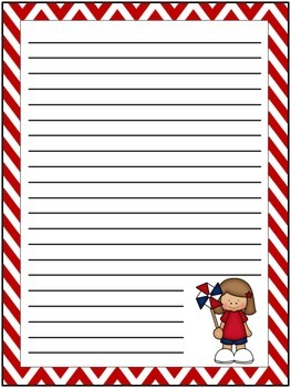 Free July Writing Paper
