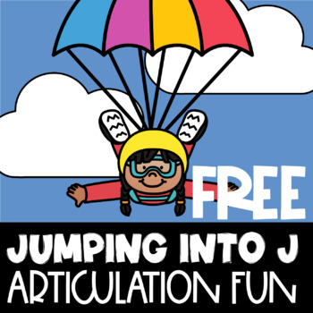 Free Jumping Into J | Printable PDF | J Sound | Speech Therapy | Articulation