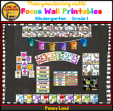 Free K-1 Focus Wall Printables