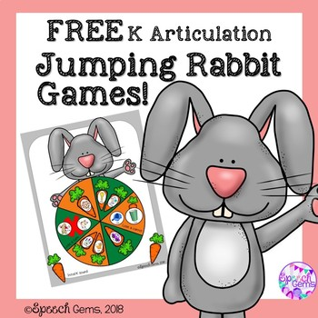 Articulation Jumping Rabbit Game Companion For K Sound FREE