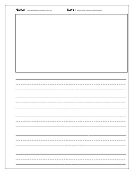 Free KG Journal Writing and Drawing