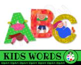 Free Kids Alphabet Letter Word Clip Art