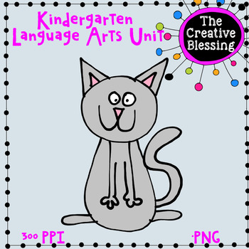 Kindergarten Language Arts Worksheet By The Creative Blessing Tpt