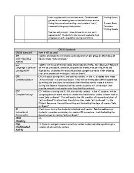Free Kindergarten Lesson Plan Template