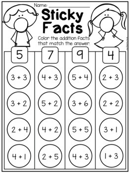 free kindergarten math worksheets by my teaching pal  tpt free kindergarten math worksheets