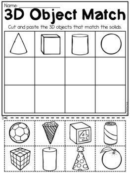Free Kindergarten Math Worksheets
