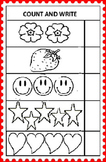 Free Kindergarten Maths Worksheets