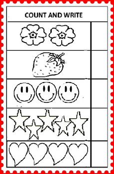 Free Kindergarten Maths Worksheets