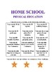 Free Kindergarten Physical Education Record Book