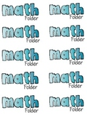 Free Labels For Folders and Journals