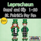 St. Patrick's Day Counting Free