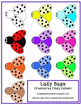 Free Lady Bugs Clip Art