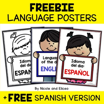Class Decor - Language of the Day Signs