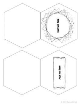 Free Lap Book Template - Editable