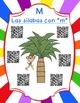 "Free-Las silabas con ""M""(ma,me,mi) Spanish reading center Dual Language"