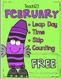 February Leap Day Time Skip Counting