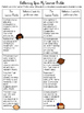 Free Learner Profile Reflection Sheet