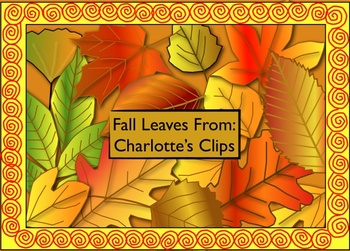 Free Fall Leaves - Leaf Clip art by Charlotte's Clips