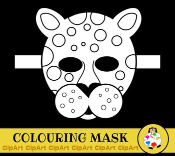 Free Leopard Party Mask Activity Project