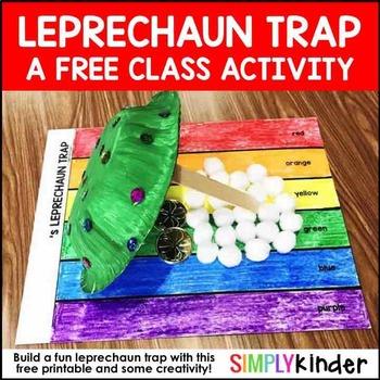 Free Leprechaun Trap Activity