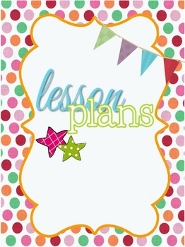Free Lesson Plan Binder Cover