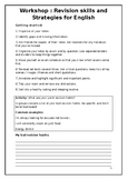 Academic Writing for Young Learners -  Revision Skills and Strategies