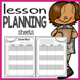 Free Lesson Plans Template