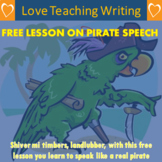 Free Lesson on Pirate Speech