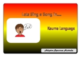 Free ~ Lets Sing a Song in Kaurna Language: Heads, Shoulde