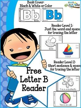 Free Letter B Mini Reader