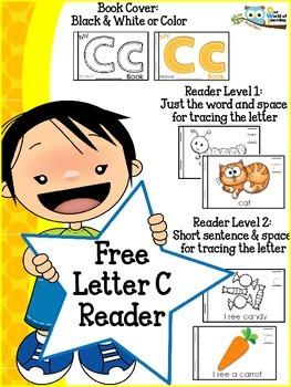 Free Letter C Mini Reader