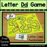 Free Letter Case Awareness Game/Letter Dd