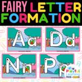 Free Letter Formation Cards | Preschool alphabet tracing |