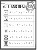 Free Letter Naming Fluency Activity