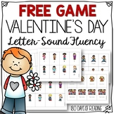 Free Letter Naming or Sound Fluency Game