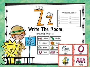 Free Letter Z Write The Room