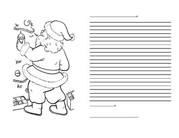 Free Letter to Santa Templates