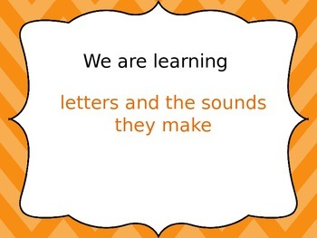 Free Letters and Sounds Warm Up- Phonological Awareness-Preschool/K/1/2