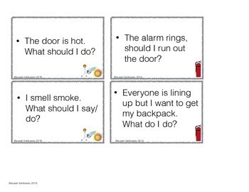 Free Life Skills Solving Problems Fire Prevention Edition