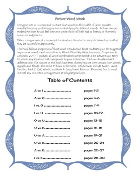 Free Listen and Write Blends and Digraphs Book 3 Sample Page