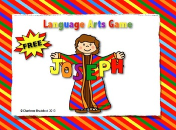 Free Faith Filled Literacy Center Game -  by Charlotte's Clips